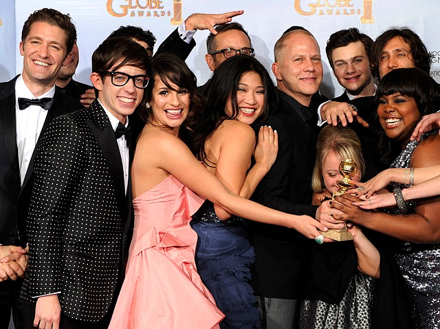 APTOPIX Golden Globe Awards - Press Room
