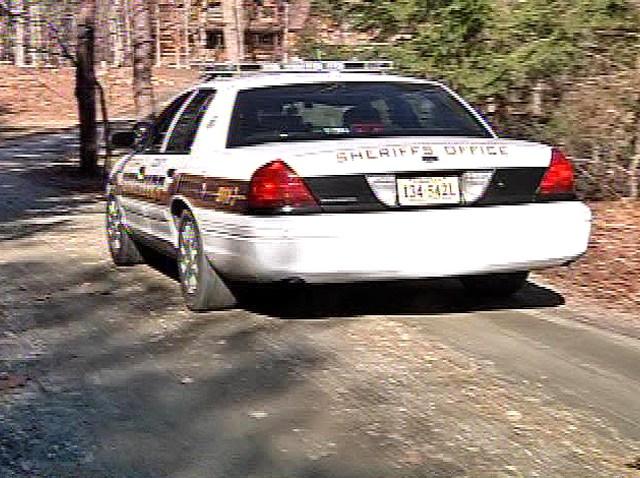 012810 Spotsylvania County Sheriffs Car