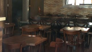 File photo of an empty restaurant