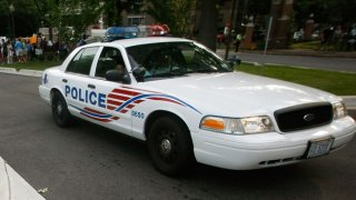 File photo of a D.C. police cruiser