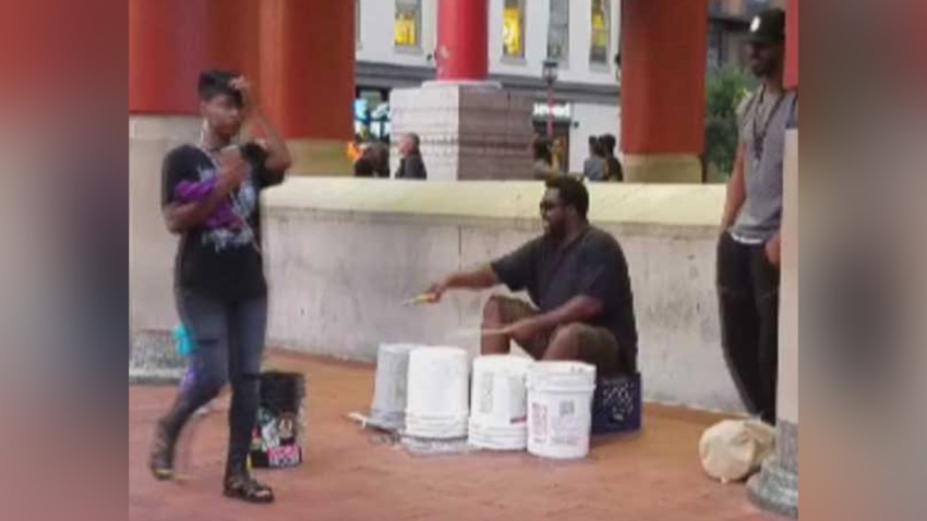 070618 street peformers dc buskers