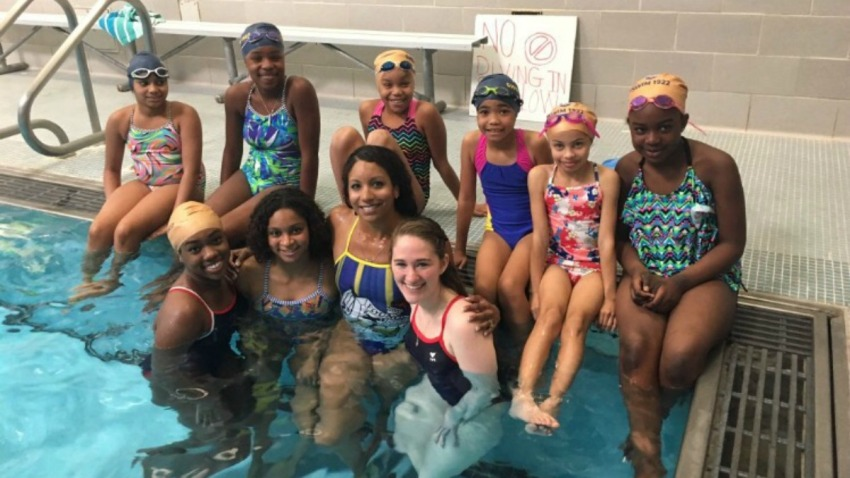 Historically Black Sorority Teams Up With USA Swimming to ...