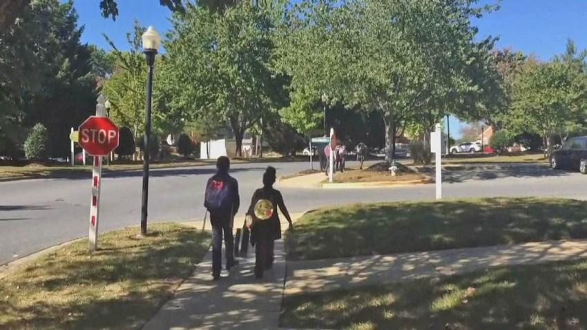 100417 prince georges children walking