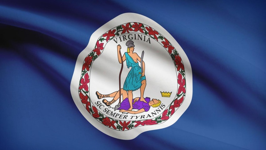 110816 virginia flag
