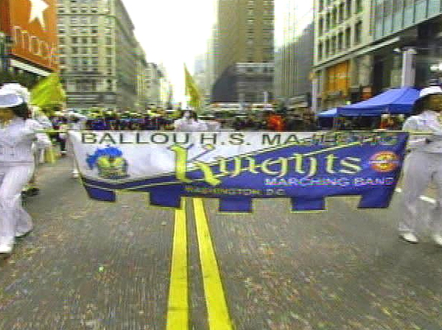 112609 Ballou Majestic Knights Marching Band