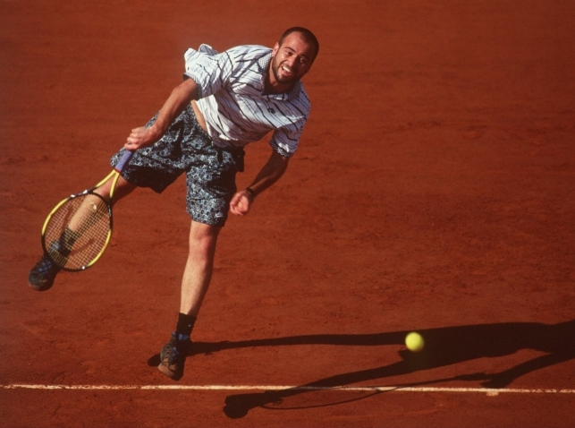 2202226P FRENCH OPEN AGASSI