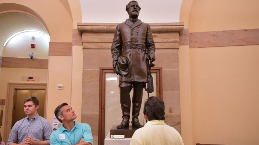 Gen. Robert E. Lee statue at the U.S. Capitol