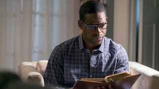 """Sterling K. Brown as Randall in episode 118 of """"This Is Us."""""""