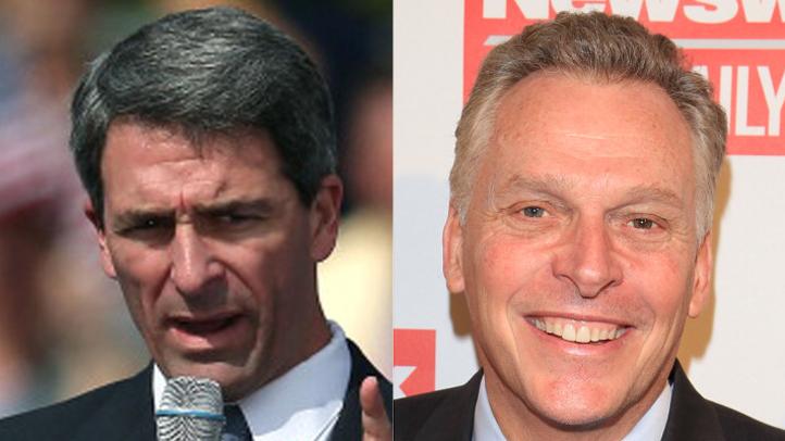 Virginia gubernatorial candidates Ken Cuccinelli (R) and Terry McAuliffe (D)