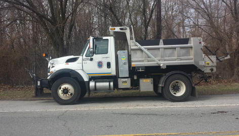 Prince George's County dump truck snow removal