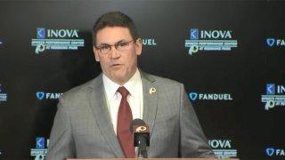 Redskins coach Ron Rivera