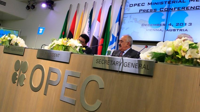 OPEC President and Kuwait Prime Minister Mustafa al-Shamali