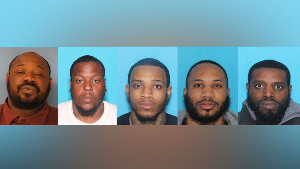 5 charged in killings of 3 spotsylvania residents