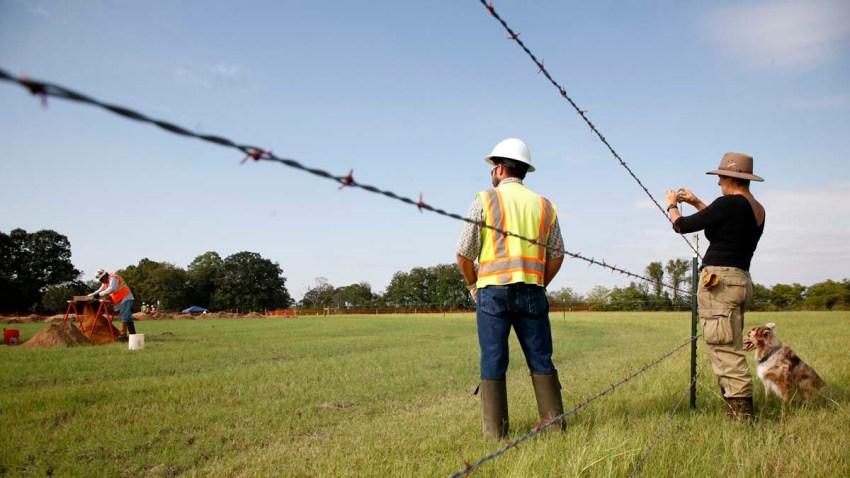 Keystone Pipeline Texas