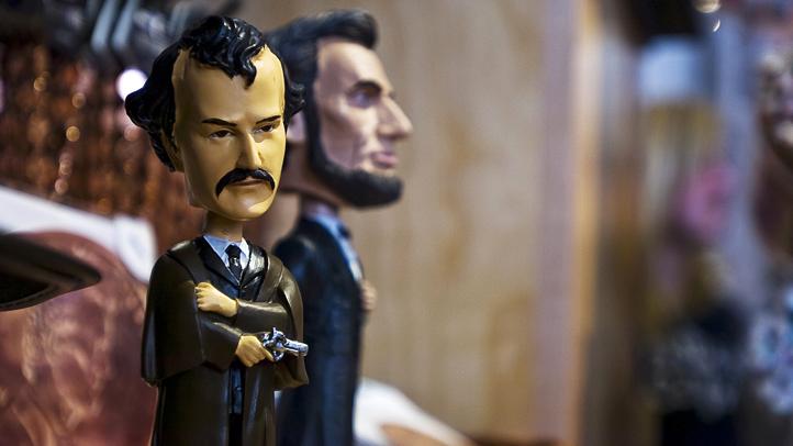 Lincoln Assassin Bobblehead