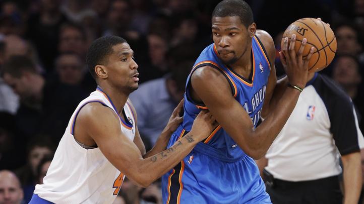 Thunder Knicks Basketball