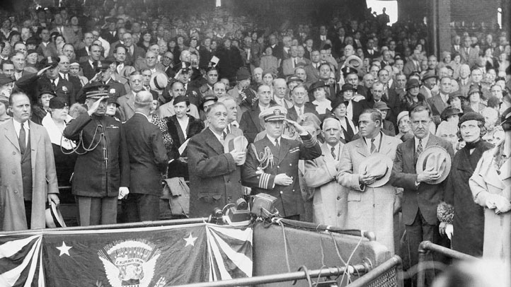 FDR At World Series 1933