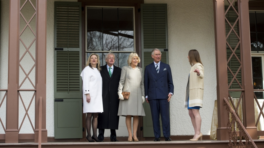 CORRECTION Royal Visit Washington