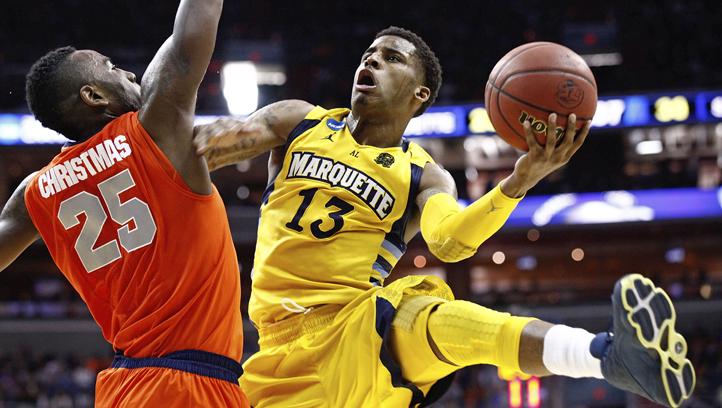 NCAA Syracuse Marquette Basketball