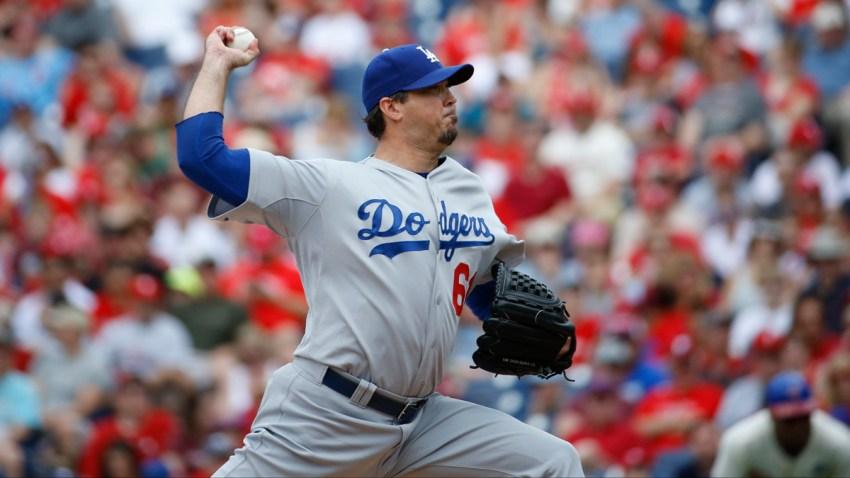 Dodgers Phillies Baseball