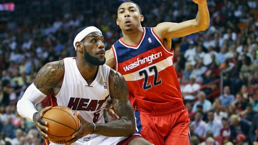 Wizards Heat Basketball