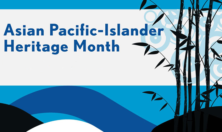 Asian Pacific-Islander Heritage Month logo