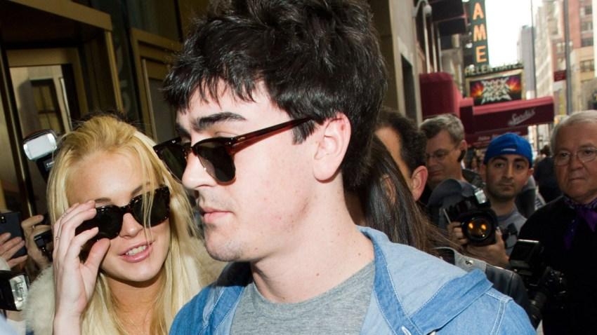 Lindsay Lohan Times Square