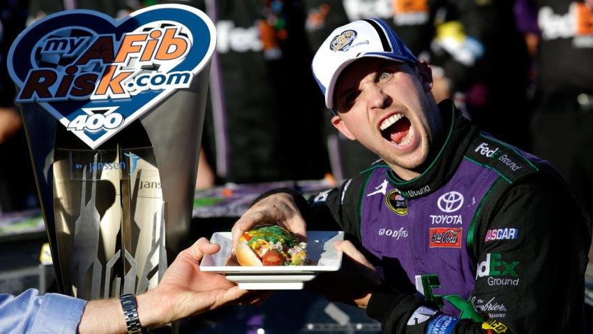 APTOPIX NASCAR Sprint Cup Series Auto Racing