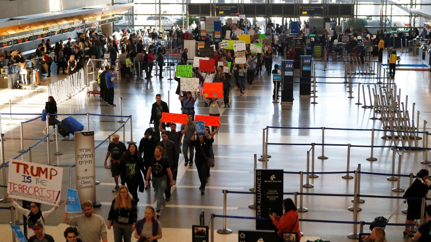 Trump Travel Ban Impact Los Angeles