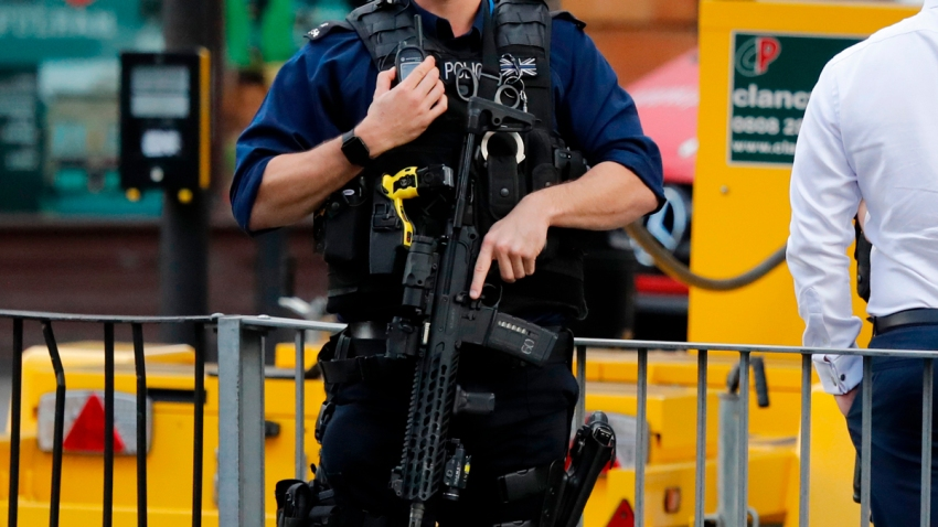 Britain Royal Wedding Security