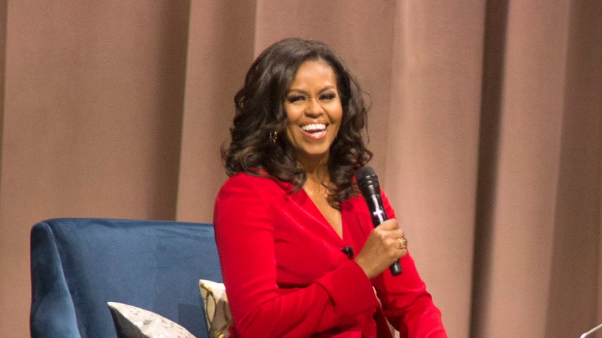 Becoming: An Intimate Conversation with Michelle Obama - Philade
