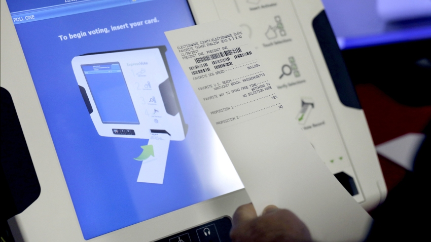 Election Security Voting Machines