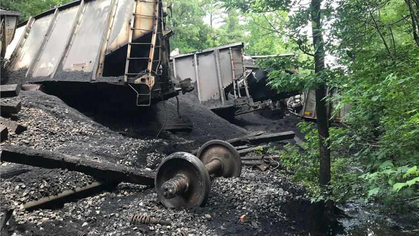 Train Derailment Dismal Swamp
