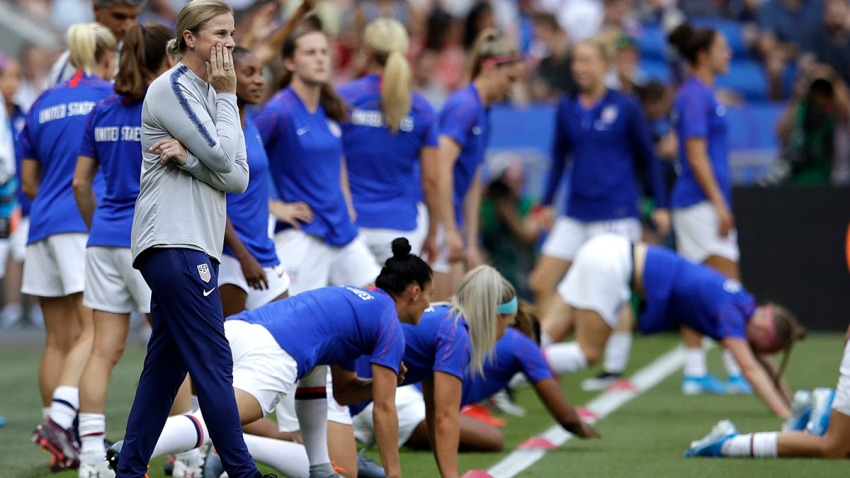 US Women After Ellis Soccer
