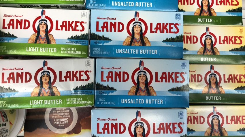The Native American woman who has graced the packaging of Land O'Lakes butter, cheese and other products since the late 1920s has quietly disappeared.