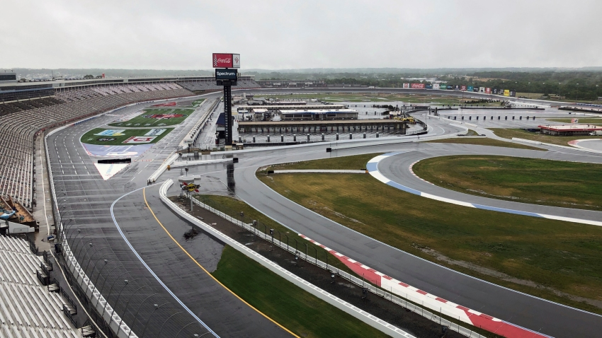 Charlotte Motor Speedway is shown in Concord, N.C.