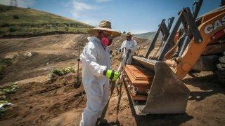 Virus Outbreak Mexico - Border Fears