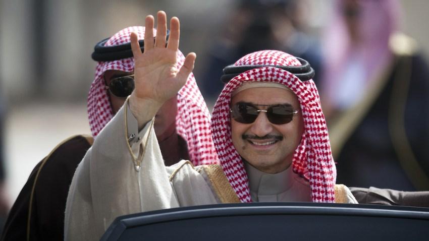 Mideast Saudi Alwaleed Twitter