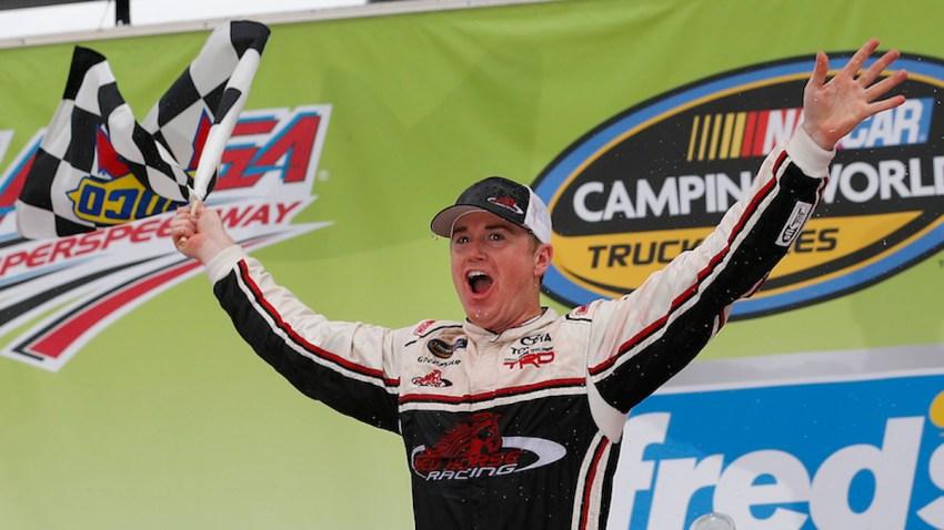 NASCAR Talladega Trucks Auto Racing