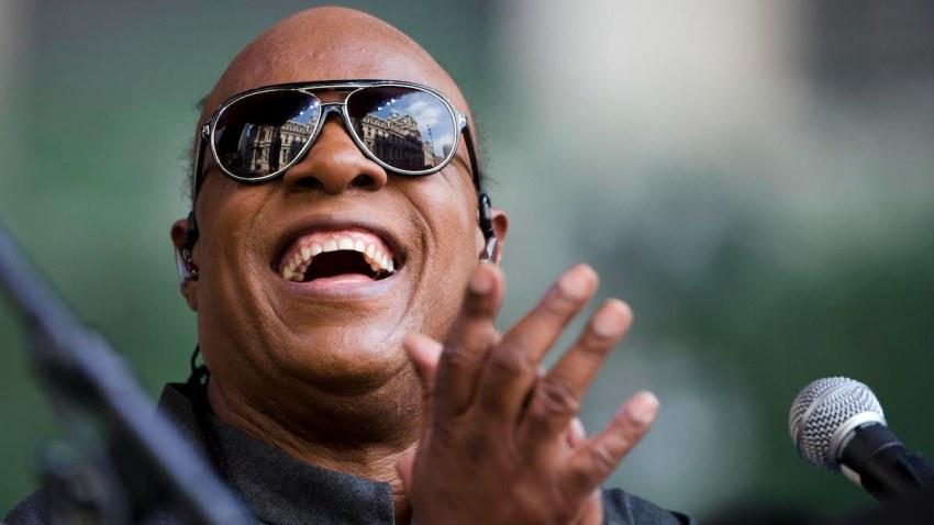 Stevie Wonder Pop Up Concert