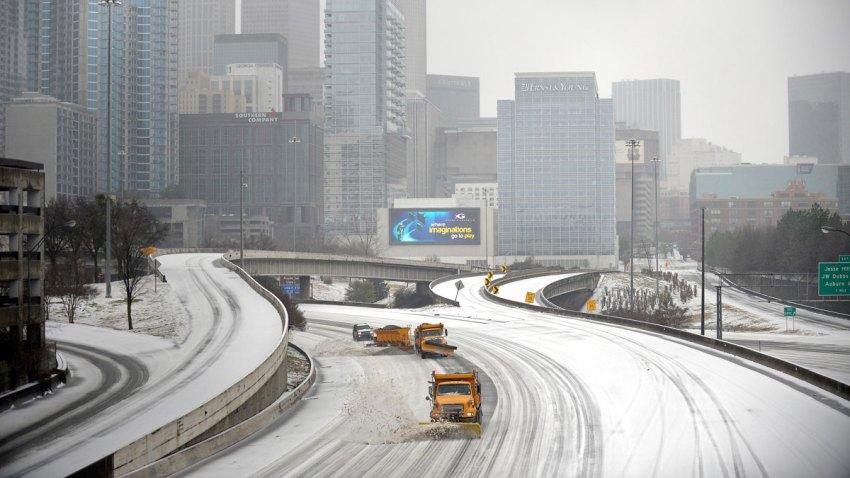 APTOPIX Winter Weather Atlanta