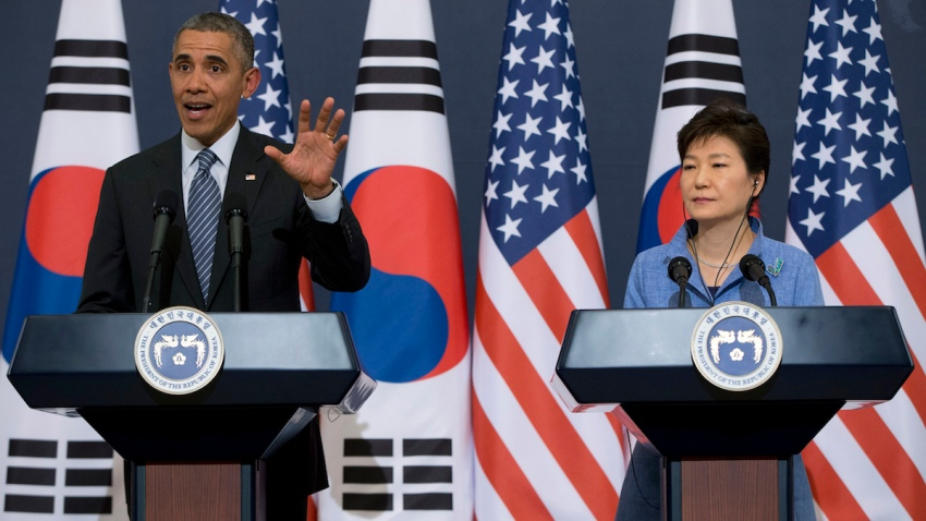 South Korea Obama Asia