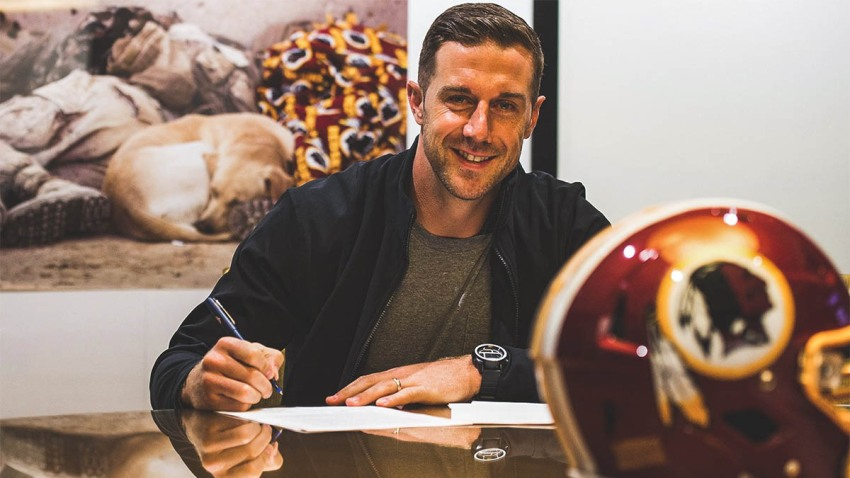 Alex Smith Signs Deal 031518