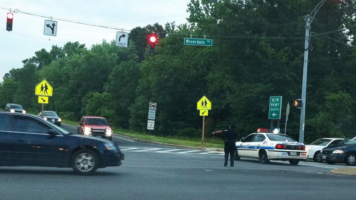 BW Parkway Fatal Crash Traffic Control