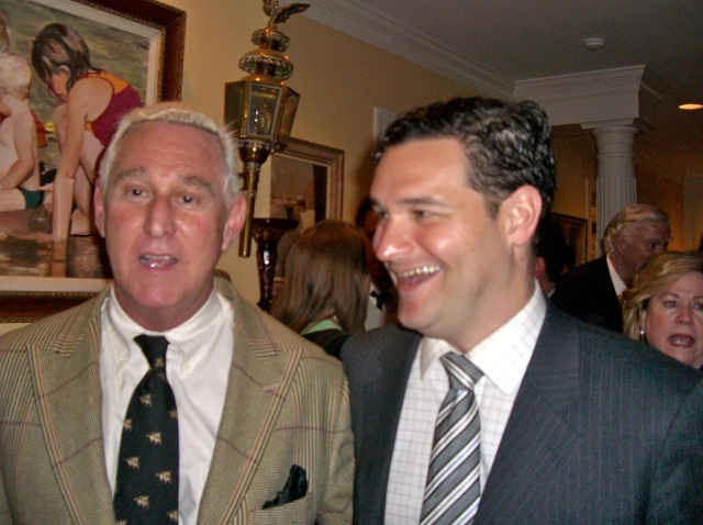 Roger Stone and Matt Labash