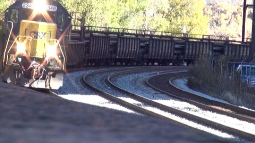 CSX Train 010815