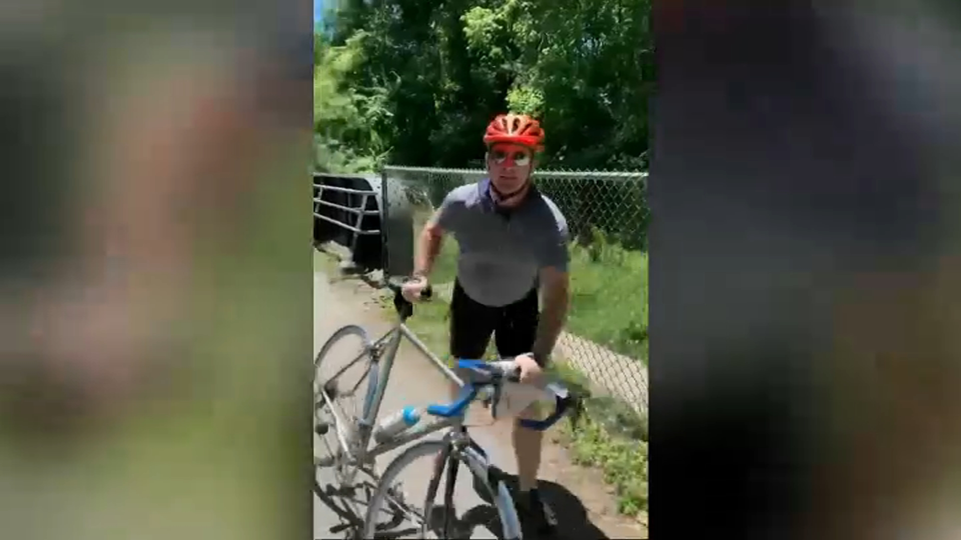 Police Have 'Strong Suspect' in Assault by Cyclist Over Racial Justice Flyers
