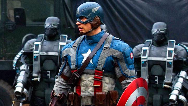 Captain America Chris Evans Movie Still