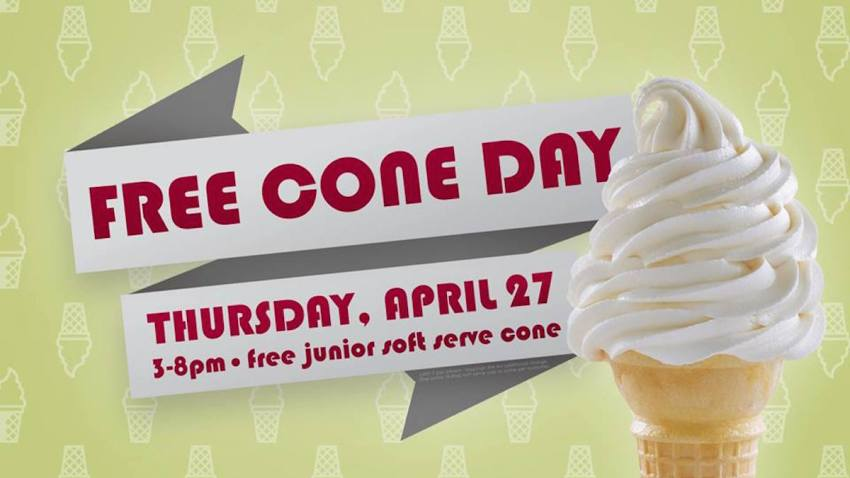 Carvel Free Cone Day 2017