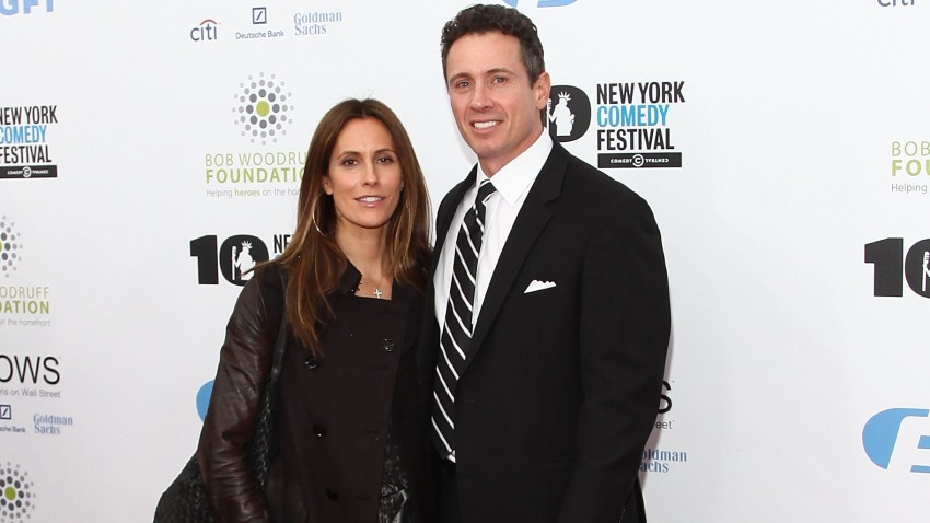 """In this Nov. 6, 2013, file photo, Cristina Greeven and Chris Cuomo attend the 7th annual """"Stand Up for Heroes"""" benefit at The Theatre at Madison Square Garden in New York City."""